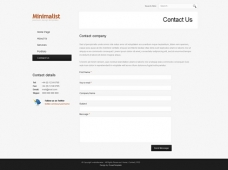 Template: ClearMinimalist - Website Template