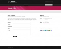 Template: Coloristic - HTML Template