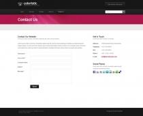 Template: Coloristic - HTML Template