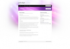 Template: PerfectLight - HTML Template