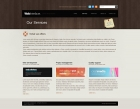 Template: Woodenui -  HTML Template
