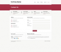 Template: Businesstheme - Website Template