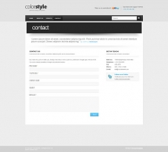 Template: Colorstyle-Cuber - CSS Template
