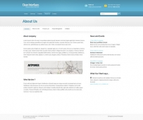 Template: CyanInterface - Website Template