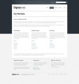 Template: Navywood-Cuber  - Website Template