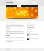 Template: SilverLight-Cuber - Website Template