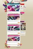 Template: FlyingDreams - WordPress Theme
