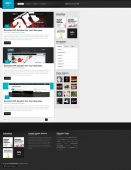 Template: wGallery - WordPress Theme