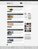 Template: LightWood - WordPress Template