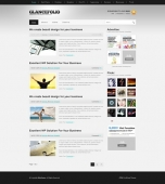 Template: GlanceFolio - WordPress Theme