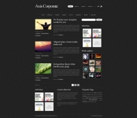 Template: Axis - WordPress Template