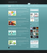 Template: CreativeLand - WordPress Theme