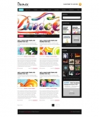 Template: DanceBlitz - WordPress Theme