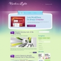 Template: NorthernLight - WordPress Theme