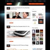 Template: PlanetAry - WordPress Theme