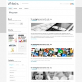 Template: WhiteInc - WordPress Theme