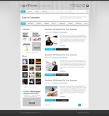 Template: LightStroke - WordPress Theme
