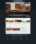 Template: BlueWood - HTML Template