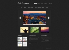 Template: Axis - HTML Template