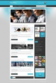 Template: AquaFuse - HTML Template