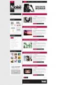 Template: Noisy  - HTML Template