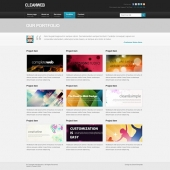 Template: KaleidoScope - HTML Template