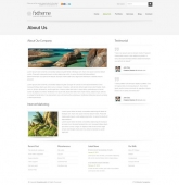 Template: Clearwhite 3D - HTML Template