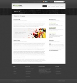 Template: DeadLine 3D - HTML Template
