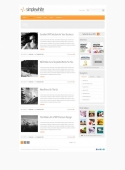 Template: SimpleWhite - WordPress Template