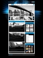 Template: BlackBlue - WordPress Theme
