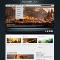 Template: BlueWood - WordPress Theme