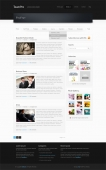Template: BlackCorp - WordPress Template