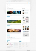 Template: MiniMalistic - WordPress Template