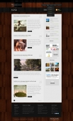 Template: HardWood - WordPress Theme