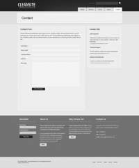 Template: CleanSite - HTML Template