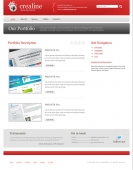 Template: Crealine - Website Template