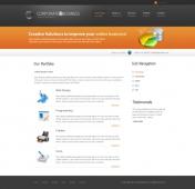Template: OrangeBusiness  - HTML Template