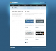 Template: SeriousDesign  - HTML Template