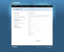 Template: SeriousDesign  - HTML Template