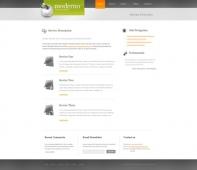 Template: Moderno - Website Template