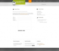 Template: Moderno - Website Template