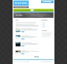 Template: BlueBoxDark -  Website Template