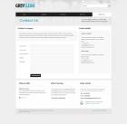 Template: GreyClean - Website Template