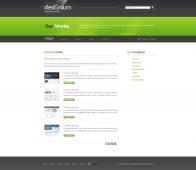 Template: Designium - CSS Template