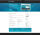 Template: BlacknBlue - HTML Template