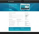 Template: BlacknBlue - HTML Template