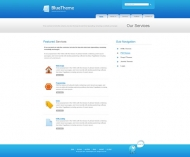 Template: BlueTheme - Website Template