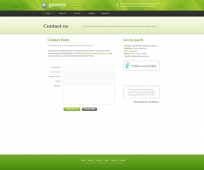 Template: Greeny - Website Template