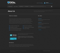 Template: Ddiz - Website Template