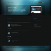 Template: CyanFusion - CSS Template